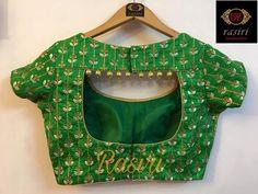 20 New Blouse Designs Patterns 2018 ArtsyCraftsyDad Trendy blouse designs Pattu Saree Blouse Designs, Simple Blouse Designs, Stylish Blouse Design, Blouse Back Neck Designs, Fancy Blouse Designs, Saree Blouse Patterns, Design For Blouse, Latest Blouse Designs, Golden Blouse Designs