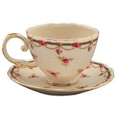 Victorian Floral Tea Cup Teacups English Bone China Teacups Porcelain Teacups Ceramic Teacups Stonewear Teacup -