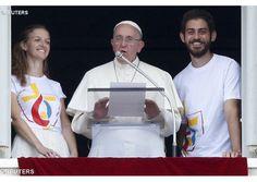 "Catholic News World : #PopeFrancis ""May the Virgin Mary accompany us..."" #Angelus - Opens World Youth Day Registry - FULL TEXT - Video"