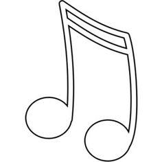 Treble clef image in public domain