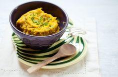 Purê de abóbora com ricota e curry | Panelinha - Receitas que funcionam
