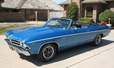 1969 Chevy Chevelle SS Convertible 396 4spd