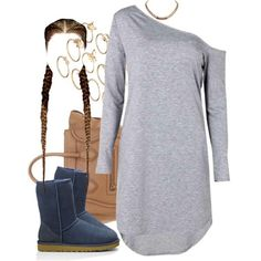 A fashion look from March 2016 featuring white high low dress, lightweight boots and man bag. Browse and shop related looks. Lazy Day Outfits, Summer Outfits For Teens, Dope Outfits, Everyday Outfits, Stylish Outfits, Summer Ootd, Summer Clothes, Teen Fashion, Womens Fashion