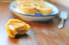 {Healthy Pumpkin Muffins}