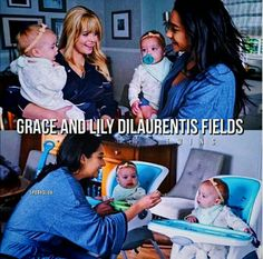 Pretty Little Liars Grace and Lily Dilaurentis Fields Alison Dilaurentis and Emily Fields and Wren Kingston's baby