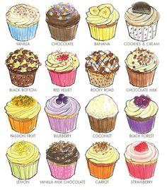Lola's cupcakes - Classic range