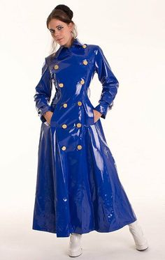 Raincoats For Women Clothing Vinyl Raincoat, Pvc Raincoat, Yellow Raincoat, Hooded Raincoat, Raincoats For Women, Jackets For Women, Imper Pvc, Mode Latex, Outfits