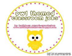 Owl Theme Jobs