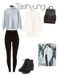 """Taehyung"" by bts-polyvore on Polyvore featuring Theory, rag & bone and Topshop"