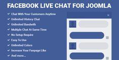 Facebook Live Chat for Joomla - https://codeholder.net/item/plugins/facebook-live-chat-joomla