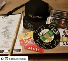 Thanks @sissiluvsreggae ! I am so happy you had a great time and were able to get additional autographs! They Rock! #Repost @sissiluvsreggae (@get_repost)  This nite is unforgettable massive Thanks to the  #band & #shaggy for all your patience & the #autographs #specialThanks @stixss5b for your #drumstick  These guys are #always soooooooo #Friendly & always #smiling what a #feeling @robertdubwisebrowne @rymshotmusic @bassiedave @stixss5b @webboweb @paulrossilee a Special thanks for all your…