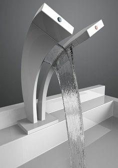 un double robinet cascade