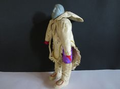 Rare vintage Inuit doll / traditional Inuit doll / by LesCurieux