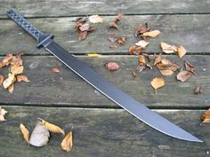 Miller Bros. Blades (MBB) Katana 5/16in. Thick Full Tang. this sword was Custom  made by hand for heavy use.