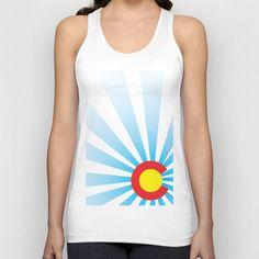 Colorado Sunrise Tank Top found out Society6.com # DURANGO #COLORADO #COLORADOBORN #COLORADOPRIDE #CO #COPRIDE #TANKTOP #MENSCLOTHING #WOMENSCLOTHING #GRAPHICDESIGN #DESIGN