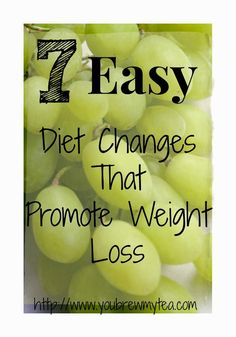 7 Easy Diet Changes That Promote Weight Loss