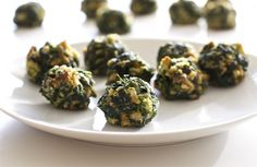 Savory Spinach Bites - The perfect holiday appetizer! Have made these for years and they are so good!