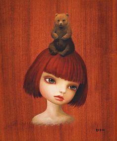 Mark Ryden - PopSurrealism - Bear Girl - 2008