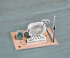 Interactive Business Card-pop up