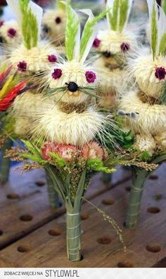Palmy wielkanocne | Regiopedia - Lubelskie Man Food, Most Beautiful Pictures, Dandelion, Diy And Crafts, Bunny, Easter, Flowers, Food Videos, Number