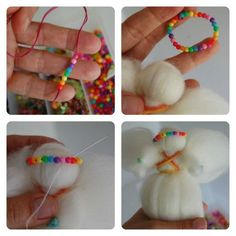 how to make fairy wool dolls5