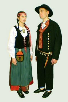 Härmä, Finland Folk Costume, Costumes, Folk Clothing, Ethnic Outfits, Folklore, Vacations, Culture, Embroidery, Model