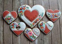 Fancy Cookies, Xmas Cookies, Valentine Cookies, Iced Cookies, Cupcake Cookies, Sugar Cookies, Valentines, Heart Cupcakes, Heart Shaped Cookies