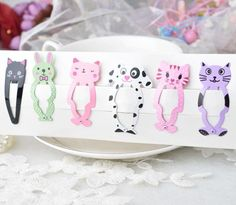 """Universe of goods - Buy New Little Girl Cute Cartoon Animal Barrettes Kid Headwear Hair Clip Children Gift Hair Accessories Snap Clips Hairpins"""" for only USD. Christening Gowns Girls, Motifs Animal, Cute Cartoon Animals, Little Girl Hairstyles, Girls Hair Accessories, Hair Barrettes, Hair Pins, Gifts For Kids, Children Hair"""
