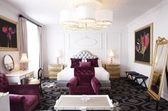 Alphen Hotel, in Cape Town, South Africa - 21 room hotel in a national monument in the semi-rural Contantia wine-growing valley. Bedroom Chair, Bedroom Wall, Bedroom Decor, Bedroom Ideas, Bedroom Designs, Dream Bedroom, Romantic Bedroom Design, Modern Bedroom, Ad Mexico