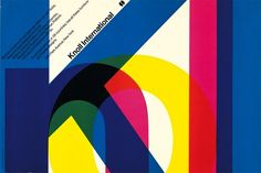 Knoll International - Massimo Vignelli