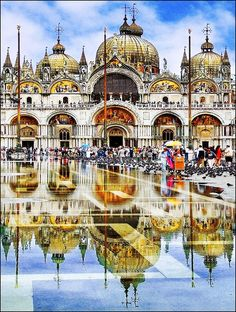 Piazza San Marco, under water