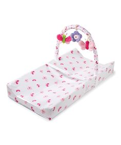 This Butterfly Changing Pad & Toy Bar by Summer Infant is perfect! #zulilyfinds