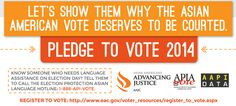 (4 o 5) Asian Americans: Is anyone paying attention to the nation's fastest growing political force?  Let's Show Them Why the Asian American Vote Deserves to Be Courted  Source: Asian Americans Advancing Justice - AAJC