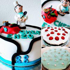 """Mi piace"": 15, commenti: 1 - Dana Draghici (@dandanaglutenfree) su Instagram: ""Birthday cake for a Chef!  Gluten free Mud Cake,  mascarpone&philadelphia lemon cream filling and…"""