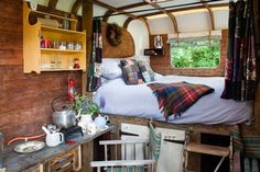 Check out this awesome listing on Airbnb: Cosy Converted Vintage Horse Box - Huts for Rent in Tenterden