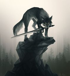 Sif from Dark Souls! It needs more fan art or is it just me who finds doggos whit sword cool. Sif Dark Souls, Dark Souls Art, Fantasy Wolf, Fantasy Art, Wolf Artwork, Wolf Spirit Animal, Mythical Creatures Art, Wolf Wallpaper, Wolf Love