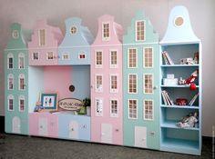 Girls Princess Room, Kindergarten Interior, Diy Kids Furniture, Doll House Plans, Kids Room Wallpaper, Toy Rooms, Aesthetic Room Decor, Kids Room Design, Kids Corner