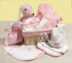 Trend Lab Deluxe 12 Piece Gift Basket Set in Pink by Trend Lab, http://www.amazon.com/gp/product/B0013N3D0M?ie=UTF8=213733=393185=B0013N3D0M=shr=abacusonlines-20&=baby-products=1361496498=1-15=baby+gift+baskets via @amazon