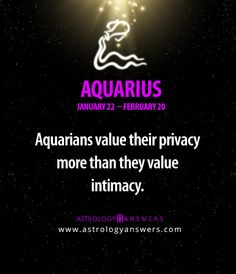 If you want to learn more about your astrology sign, click on the picture :) #Aquarius