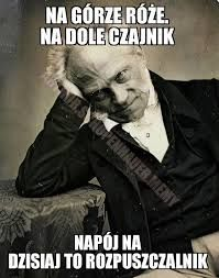 Znalezione obrazy dla zapytania arthur schopenhauer memy Very Funny Memes, A Funny, I Hate My Life, Real Life, Polish Memes, Funny Mems, Depression Memes, Funny As Hell, Stuff And Thangs
