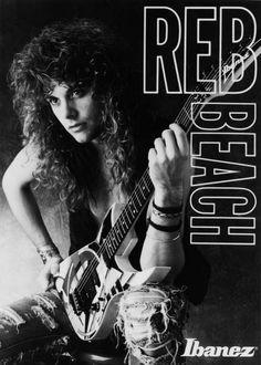 Reb Beach, el otro guitarrista de Whitesnake! :B <3