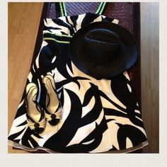 Price ⤵️ 2X HPStunning zebra print dress w/Lime 2X Host Pick This dress has netting at bottom to add some extra style! Only worn once for a special occasion!:) I got tons of compliments dress it up with stylish shoes and a classy hat or be simply the dress alone makes a statement!:) excellent condition!:) no trades no paypal. Firm Dresses