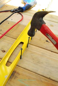 The Tools Needed When Laying Decking Cool Deck, Diy Deck, Woodworking Saws, Woodworking Projects, Carpentry, Deck Building Plans, Laying Decking, Deck Construction, Young House Love