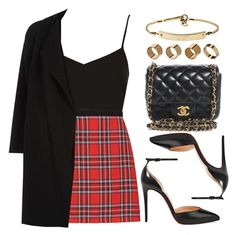 A fashion look from November 2017 featuring River Island, red skirt and v neck cami. Browse and shop related looks. Girls Fashion Clothes, Teen Fashion Outfits, Fall Outfits, Girl Fashion, Cute Casual Outfits, Stylish Outfits, Mode Pastel, Polyvore Outfits, Polyvore Fashion
