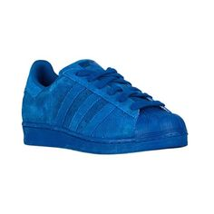 adidas Originals Superstar Boys' Grade School ($75) ❤ liked on Polyvore featuring sneakers