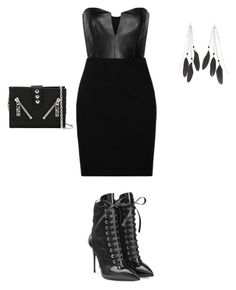 """""""Untitled #327"""" by aayushis on Polyvore featuring Charlotte Russe, Mason by Michelle Mason, Giuseppe Zanotti and Kenzo"""