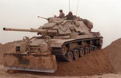 Modernised M60A1 Operation Desert Storm