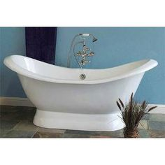 Photos 69 Quot Rosalind Acrylic Double Slipper Tub With