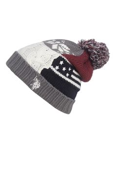 Passadena.gr | US POLO ASSN | USA FLAG KNIT HAT G3 ΑΞΕΣΟΥΑΡ ΓΥΝΑΙΚΕΙΟ