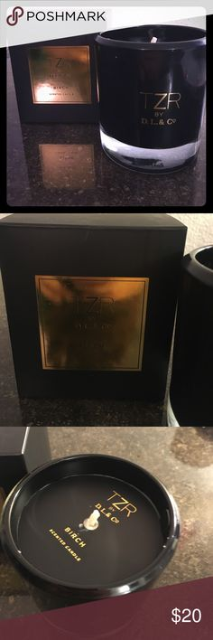 Birch TZR (The Zoe Report) Candle Birch Soy Candle by The Zoe Report. Warm Aroma of Birch Wood and Amber accented with Fragrant Oak, Cedar and Vanilla Musk Rachel Zoe Other